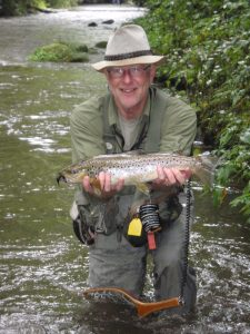 Fly Fishing Delayed Harvest Waters with Asheville Guide Charlie Downs