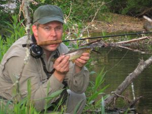 Carlton with Wild Brown Trout