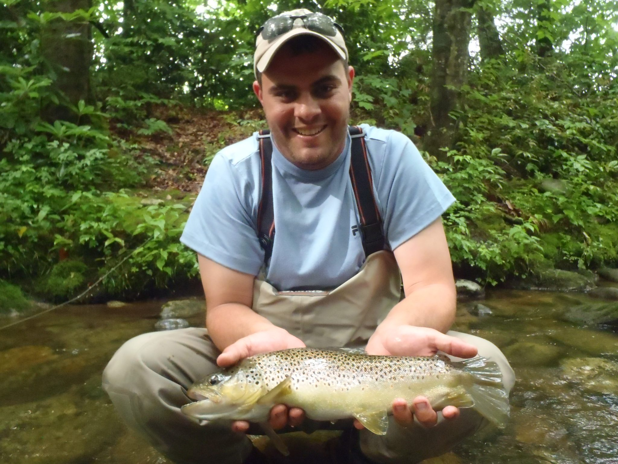 Davidson river fishing report week of june 27 2012 for Fly fishing asheville nc