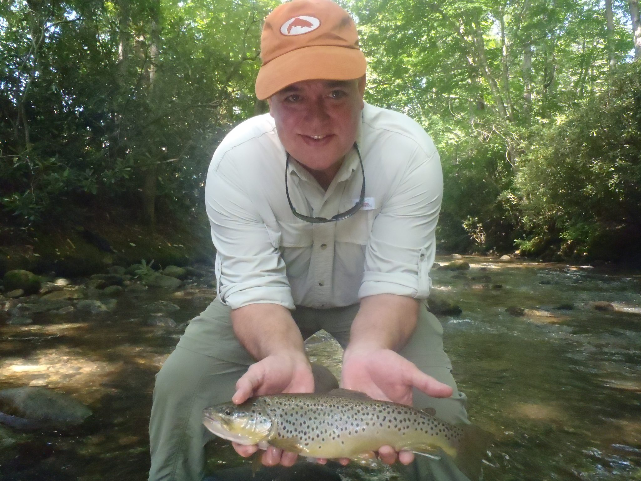 Davidson river fishing report week of august 15 2012 for Davidson river fishing report