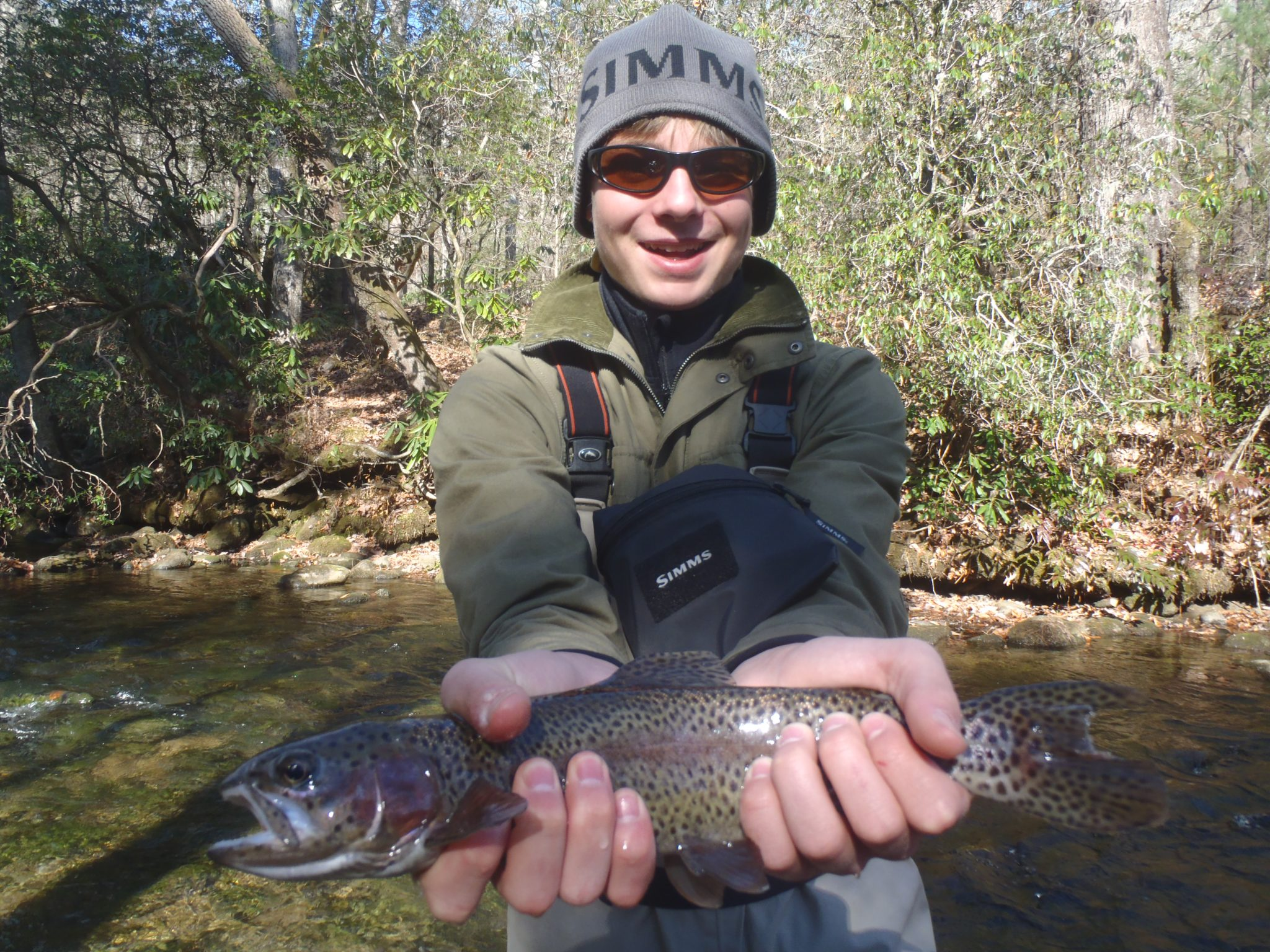 davidson river fishing report week of november 28 2012