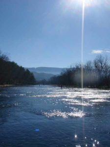 Sunny Day on the South Holston River