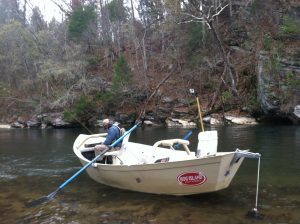 Float fishing the Watauga River