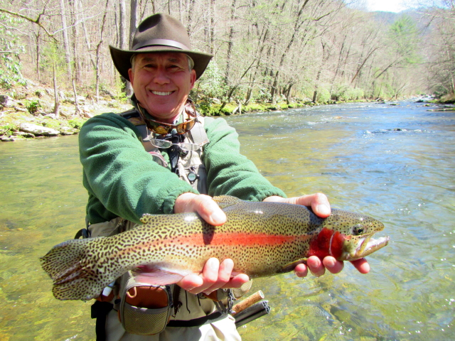 Curtis wright outfitters flyfishing guides for Nolichucky river fishing